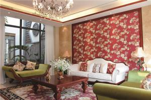 温馨简欧客厅家具