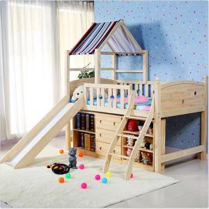 小户型儿童卧室上下床装修效果图