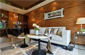 小户型家庭装修客厅沙发摆