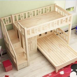 儿童房设计上下床板材图片