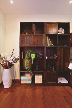 实木矮书柜多少钱