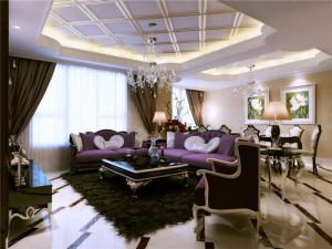 新中式客厅家具图片欣赏