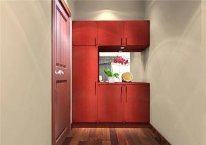 现代红木鞋柜
