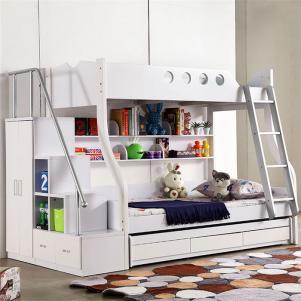 1.2米与1.5米儿童房双层床效果图