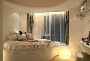 圆形床卧室效果图装修有哪些要点