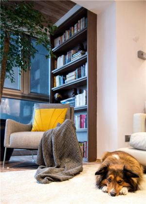 公寓休闲区美式风格阳台效果图