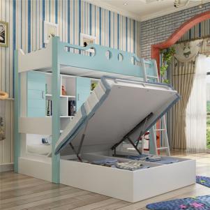 家居上下床多功能储物组合床