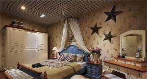 美式儿童房空间尺寸