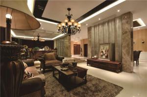 欧式沙发家具样板间