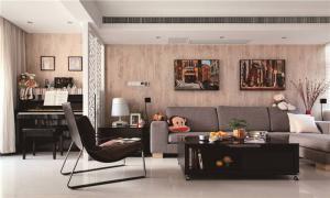 全屋长方形客厅家具