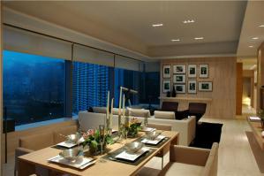 家装客厅小餐桌