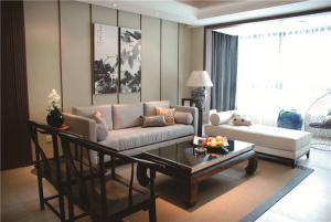 现代客厅布艺沙发