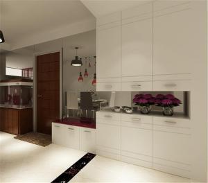 公寓客厅装饰柜