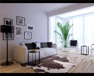 温馨小户型客厅沙发