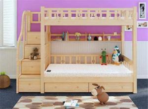 实木简易家庭使用卧室二层