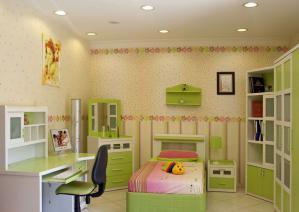 小户型的儿童房装修实例