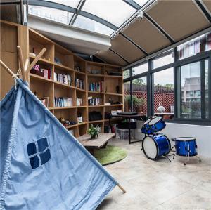 玻璃特色包阳台效果图- 维意定制家具网上商城