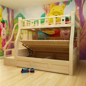 松木定做上下床哪里有