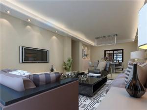 小户型客厅沙发摆放效果图