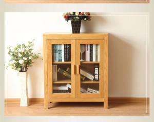 榆木书橱矮书柜