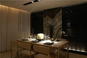 简易客厅小餐桌
