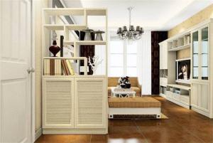 小清新室内装饰柜