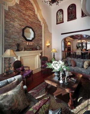 温馨美式客厅家具