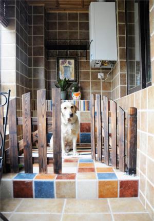 美式风格阳台效果图改造成狗窝