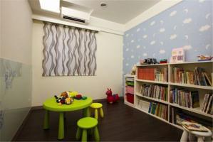 多功能活动儿童书房装修效果图