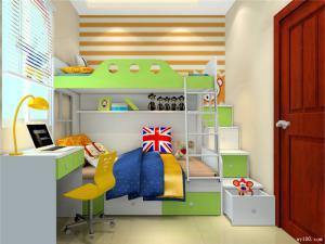 小房间儿童家具上下床