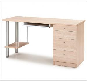 枫木色简约书桌