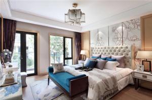欧式床家具设计