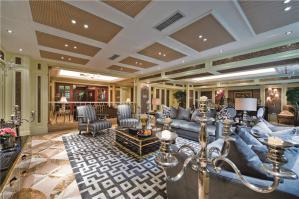 创意长方形客厅家具