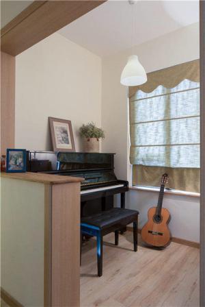 阳台改造效果图改造成钢琴房