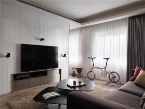 小户型家庭装修开放式客厅