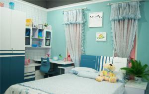 儿童房窗帘效果图哪里有