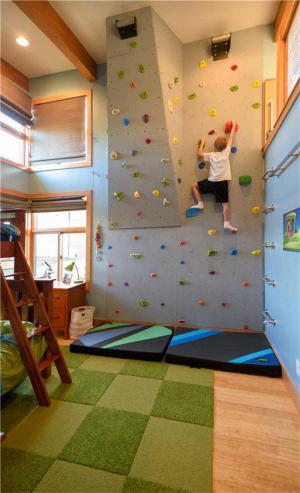 国外男孩创意儿童房