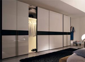 卧室整体衣柜风格