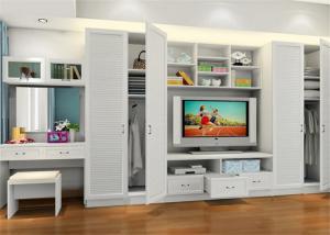 步入式衣柜3D效果图