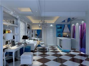 豪华现代客厅家具