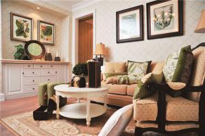 家居客厅沙发摆放效果图