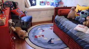 小户型硅藻泥儿童房效果图下载