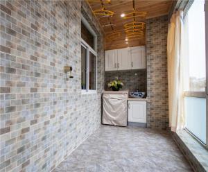 阳台洗衣池效果图家具免费设计