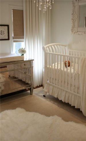 儿童房家装样板间婴儿实拍图