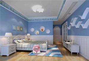 儿童房设计与装修哪个颜色好