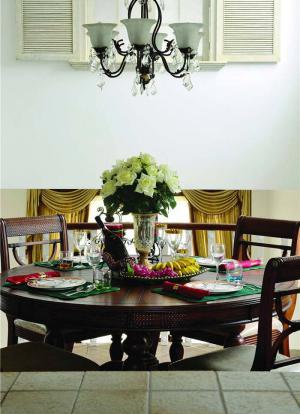 小清新家用餐桌餐椅