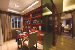 红木创意书柜