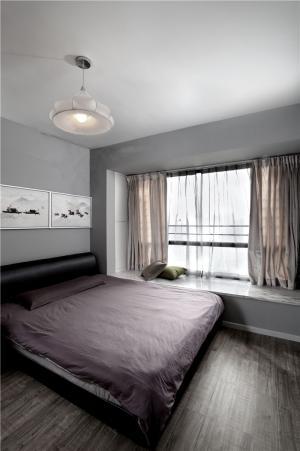 65平小户型装修卧室床品搭配