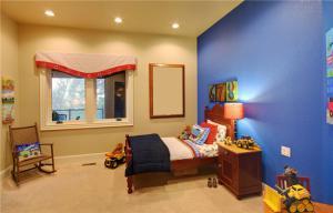 硅藻泥儿童房效果图实拍图