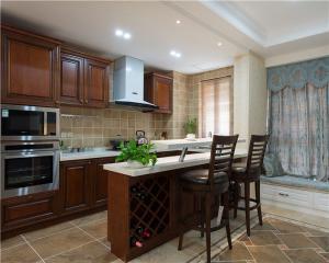 开放式厨房橱柜免费设计